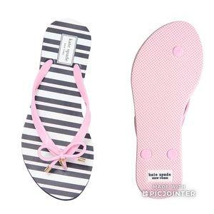 Sz 9 or 7 Kate Spade Light Pink Nova Flip Flops